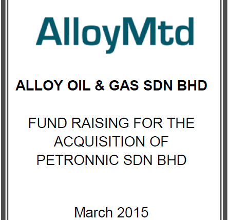 Alloy MTD Fund Raising