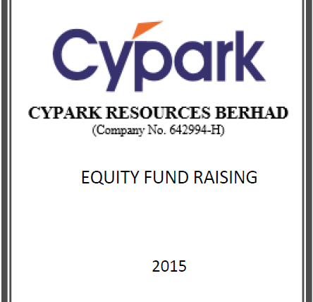 Cypark Fund Raising
