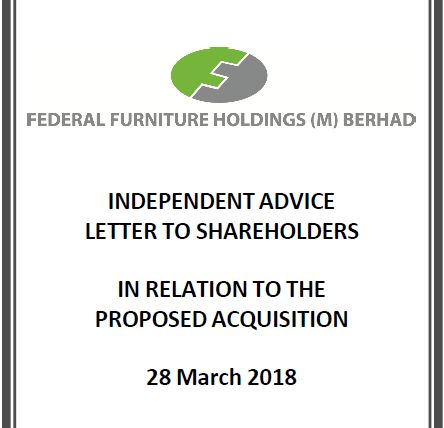 Federal Furniture Holding (M) Berhad