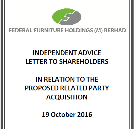 Federal Furniture Holdings (M) Sdn Bhd